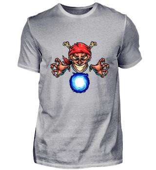 Pirat mit Kristallkugel