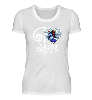 ☛ I LOVE SKIING #1W