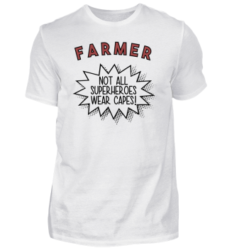 Superhero Capes Farmer