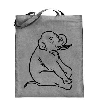 Elefant, Zeichnen, Kinder