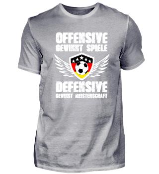 Fussball - Offensive - Defensive