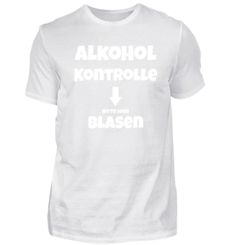 Alkoholkontrolle - Bitte Blasen - Sauftour Mallorca - JGA - Junggesellenabschied - Geschenk