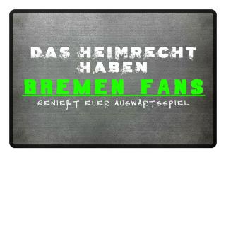 Bremen Fußmatte Heimrecht