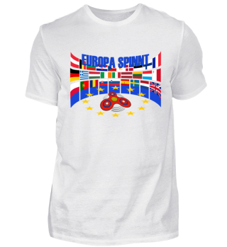 Fidget Spinners Flags - EUROPA SPINNT