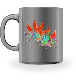 ★ Crazy Colored Marijuana Leaves 5