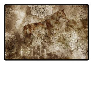 ★ Wolf Mandala Pattern - FAITH 2