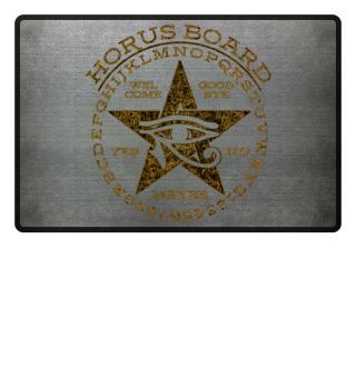 Mystical Pentagram Horus Board - gold 2