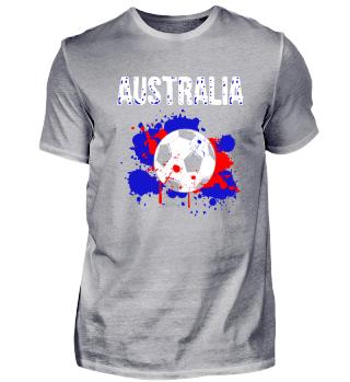 Australien Fußball Fussball Shirt Fan