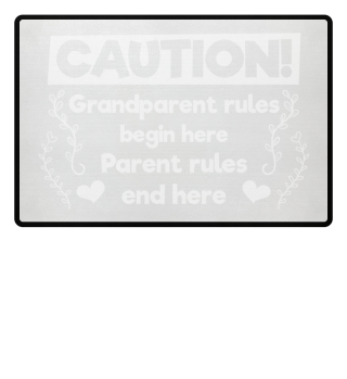 Grandparent rules begin here - gift
