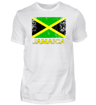 Jamaica Flag distressed