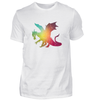 Blurred Dragon / Drache Fabelwesen Feuer