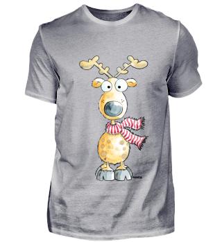 Happy Reindeer - Lustiges Rentier - Fun