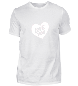 VALENTINSTAG LOVE YOU COUPLE SHIRT