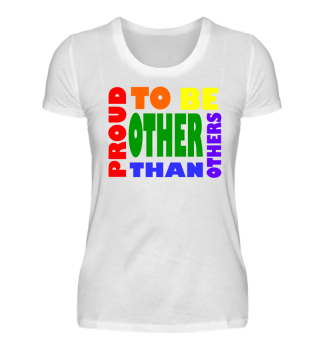 Proud to be other than others | rights