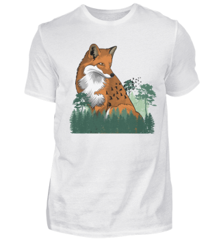 Fox in Forest - Nature - Forest Animal