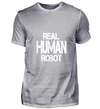 REAL HUMAN ROBOT