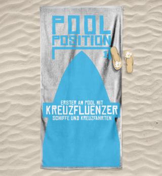 Pool Position 1 mit Kreuzfluenzer