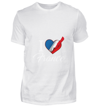 D001-0089A I Love France / Frankreich