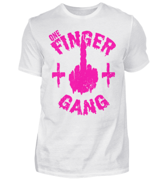 Mittelfinger Gang Team Middle Finger