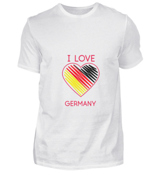 D008-0006 I Love Germany / Deutschland