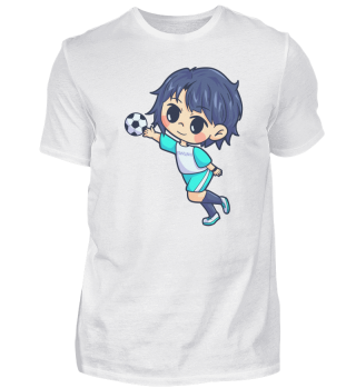 Handball Young man sports gift