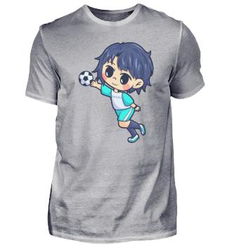Handball Young man sports gift
