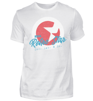 Real Retro Star Ink. Lab. & Co. Shirt