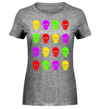 Totenkopf Gruppe - Grelle Farben I