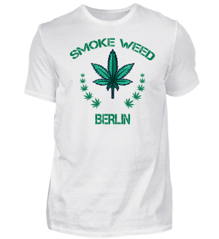 Kiffer Shirt Berlin Cannabis Shirt