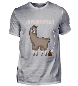 Lustig Alpaka Kaka Kuscheltier Geschenk