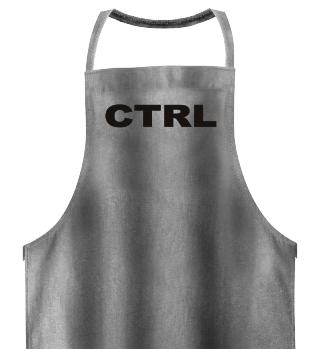 PC Tastenbezeichnung CTRL - black
