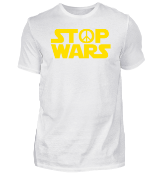 Sci-Fi Peace Sign ➢ Stop Wars