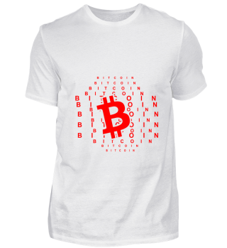 GIFT- BITCOIN CRYPTO MONEY RED