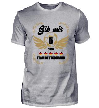 FUSSBALL SHIRT · GIB MIR FÜNF #1.2