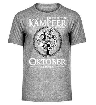 Die stärksten Kämpfer - Oktober