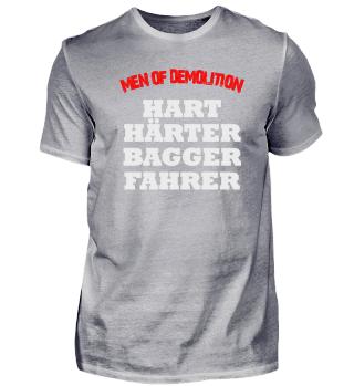 HART HÄRTER BAGGERFAHRER