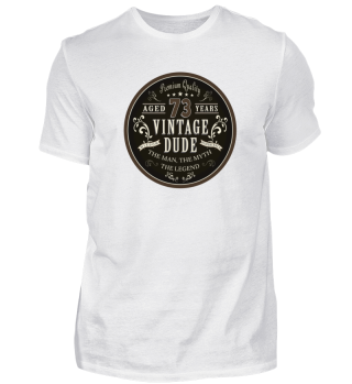 73rd Birthday Vintage T-Shirt Gift