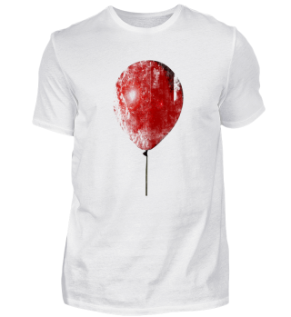 Halloween red balloon roter Ballon Shirt