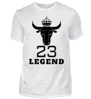 Bulls Legend 23 MJ Basketball Jersey