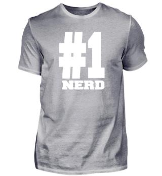 Number 1 Nerd Shirts | Stylish For Nerds