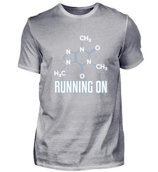 Running On Caffeine Molecule