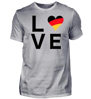 Germany LOVE / Fußball WM (weiß)