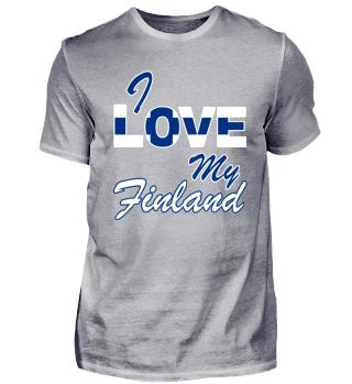 My Finland Shirt - Geschenk Finnland