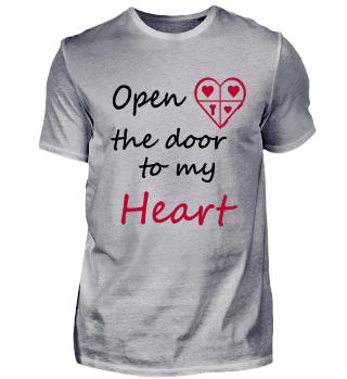 Open the door to my heart - Love