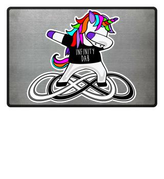 Dabbing Rainbow Unicorn - Infinity Dab 2