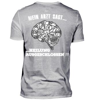 Dart Shirt - Mein Arzt sagt