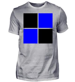 Trikot Idee schwarz blau