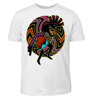 Kokopelli - Wheel Of Energy Mandala I