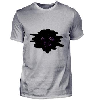 Interplanetarisches Artsy T-Shirt Design