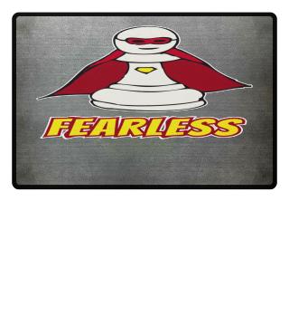 Fearless Superhero Pawn Chess Piece